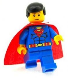 Superman (Yellow) - Custom Designed Minifigure